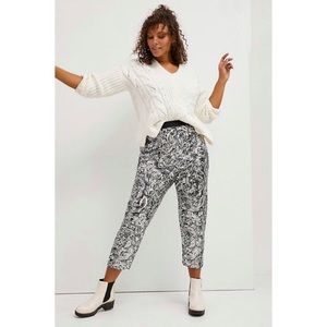 NWT Anthropologie Pascaline Sequined Trouser Pants